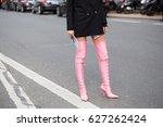 paris march 2  2017.street... | Shutterstock . vector #627262424