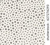 retro geometric line shapes... | Shutterstock .eps vector #627276293