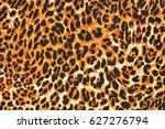 leopard fur as background | Shutterstock . vector #627276794
