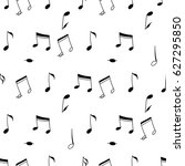 a vector seamless pattern of... | Shutterstock .eps vector #627295850