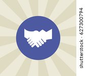 shake hands icon. sign design....