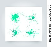 vector abstract background with ... | Shutterstock .eps vector #627320606