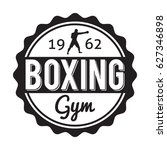 boxing gym and martial arts... | Shutterstock .eps vector #627346898