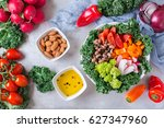 health care  diet and nutrition ... | Shutterstock . vector #627347960