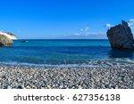 aphrodite's rock   aphrodite's... | Shutterstock . vector #627356138