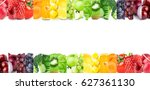 fruits and vegetables. fresh...   Shutterstock . vector #627361130