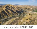 Railroad Line In Valley Of Vas...