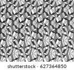 vector geometric abstract... | Shutterstock .eps vector #627364850