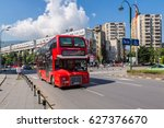 skopje  macedonia   june 19 ... | Shutterstock . vector #627376670