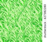 bright green grass seamless... | Shutterstock .eps vector #627382280