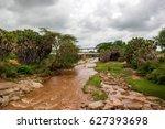 Tsavo River  Home To The Man...