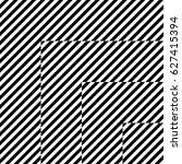 vector seamless pattern.... | Shutterstock .eps vector #627415394