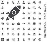 start up icon. start up... | Shutterstock .eps vector #627416264
