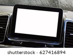 isolated screen of navigation... | Shutterstock . vector #627416894