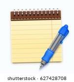 vector illustration of detailed ... | Shutterstock .eps vector #627428708