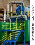 sugar cane industry   Shutterstock . vector #627434714