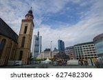 frankfurt am main  germany  ...   Shutterstock . vector #627482306