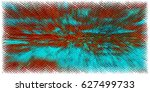 abstract grunge background of... | Shutterstock . vector #627499733