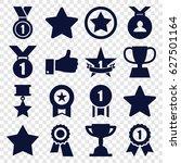 best icons set. set of 16 best... | Shutterstock .eps vector #627501164