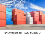 industrial port container