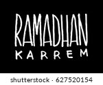 ramadan kareem celebration... | Shutterstock .eps vector #627520154