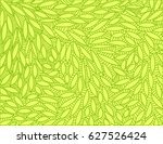 abstract leaf doodle scene... | Shutterstock .eps vector #627526424