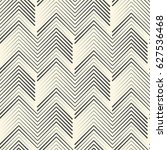 seamless zig zag pattern.... | Shutterstock .eps vector #627536468