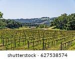 modern day farmhouse   winery ... | Shutterstock . vector #627538574