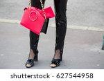 paris march 2  2017.street... | Shutterstock . vector #627544958