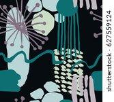 the seamless scandinavian... | Shutterstock .eps vector #627559124