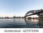 beautiful sunrise over opera... | Shutterstock . vector #627575540