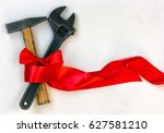 international worker solidarity ...   Shutterstock . vector #627581210