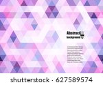 abstract background with... | Shutterstock .eps vector #627589574