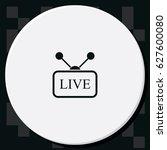live sign. | Shutterstock .eps vector #627600080