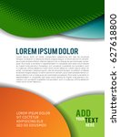 professional business design... | Shutterstock .eps vector #627618800