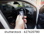 car theft prevention system | Shutterstock . vector #627620780