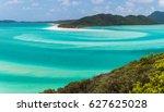 whitehaven beach  whitsundays   Shutterstock . vector #627625028