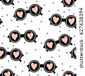 stylish seamless pattern... | Shutterstock .eps vector #627628394