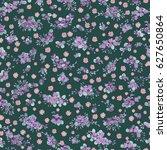 elegant gentle trendy pattern... | Shutterstock . vector #627650864