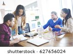 teamwork is necessary in every... | Shutterstock . vector #627656024