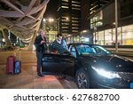 male professional driver... | Shutterstock . vector #627682700
