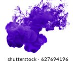 abstract formed by color... | Shutterstock . vector #627694196