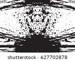 black and white vintage grunge... | Shutterstock .eps vector #627702878