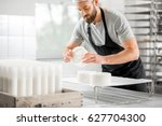 Handsome Cheese Maker In...