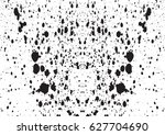 black and white vintage grunge... | Shutterstock .eps vector #627704690