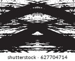 black and white vintage grunge... | Shutterstock .eps vector #627704714