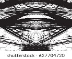 black and white vintage grunge... | Shutterstock .eps vector #627704720