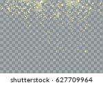 glittering star dust trail... | Shutterstock .eps vector #627709964