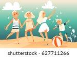 children protection day | Shutterstock .eps vector #627711266