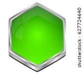 blank button   3d illustration   Shutterstock . vector #627724640